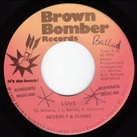 Beverly and Duane - You belong to me (Brown Bomber)