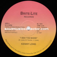 Kenny Long - It's better to love and lost (Brite Lite)
