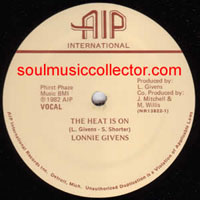 Lonnie Givens ‎– The Heat Is On